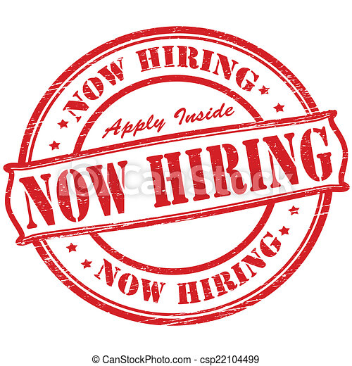Now hiring - csp22104499
