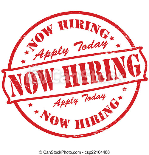 Now hiring - csp22104488