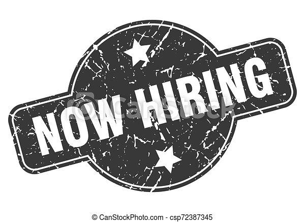 now hiring - csp72387345