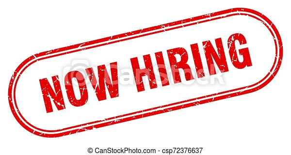 now hiring - csp72376637