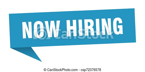 now hiring - csp72376578