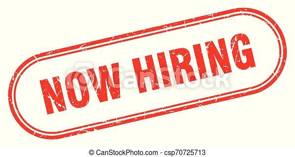 now hiring - csp70725713