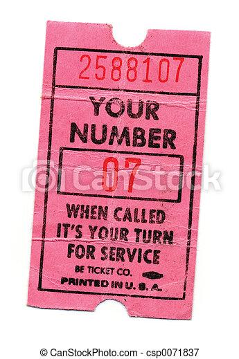 now serving - csp0071837