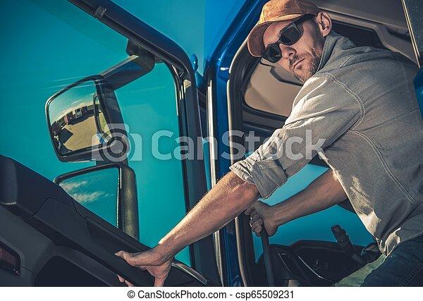 nowoczesny, wózek, pół, napędowy - csp65509231
