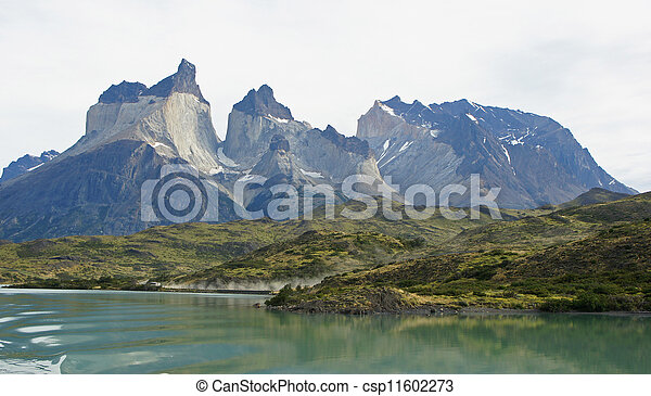 NP Torres del Paine, Chile     - csp11602273