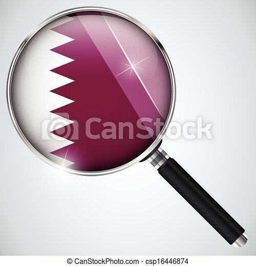NSA USA Government Spy Program Country Qatar - csp16446874