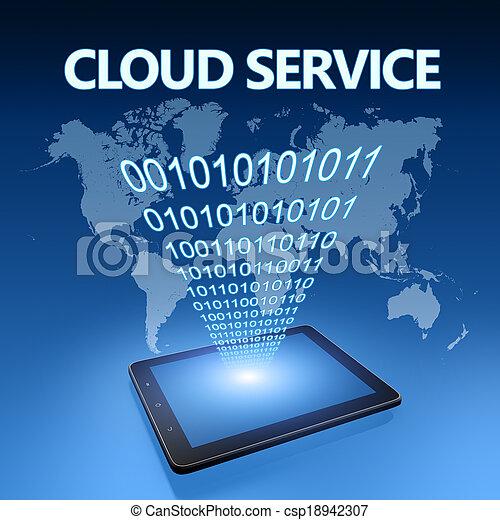 nuage, service - csp18942307