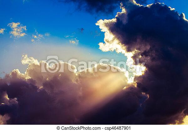nuages - csp46487901