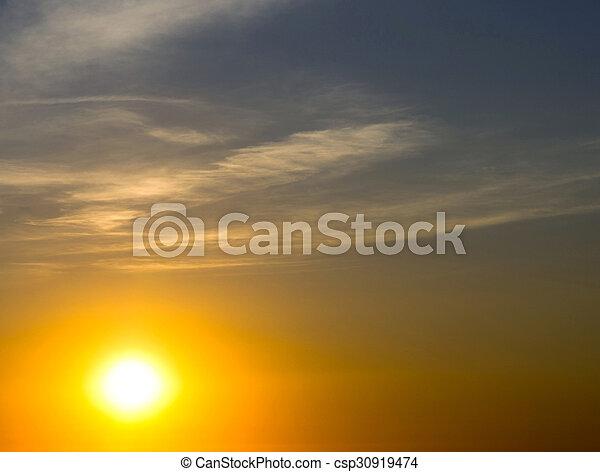 nuages - csp30919474
