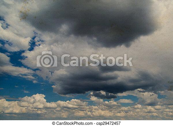 nuages - csp29472457