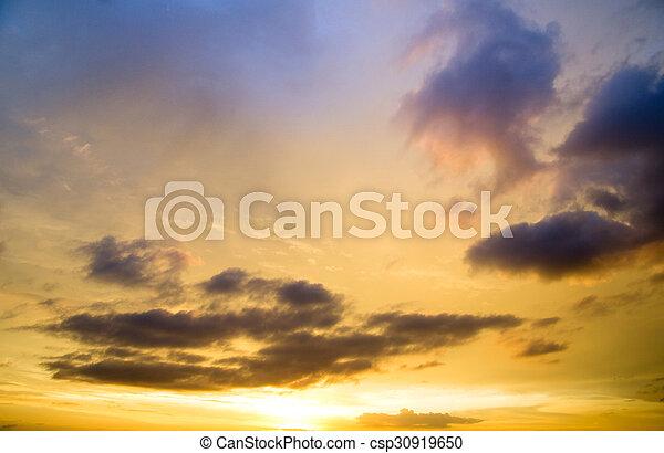 nuages - csp30919650