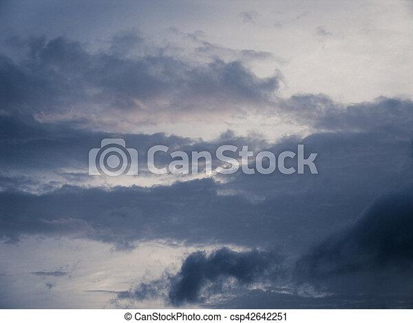 nuages - csp42642251