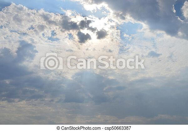 nuages - csp50663387