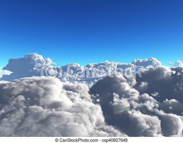 nuages - csp40807648