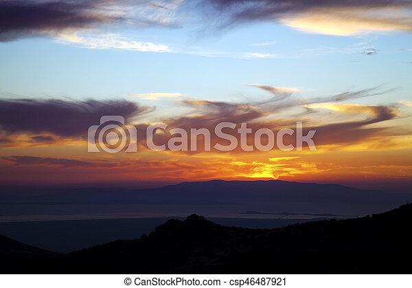 nuages - csp46487921