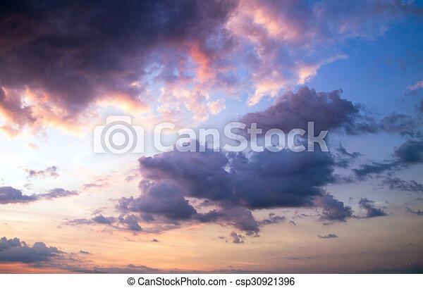 nuages - csp30921396