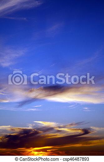nuages - csp46487893