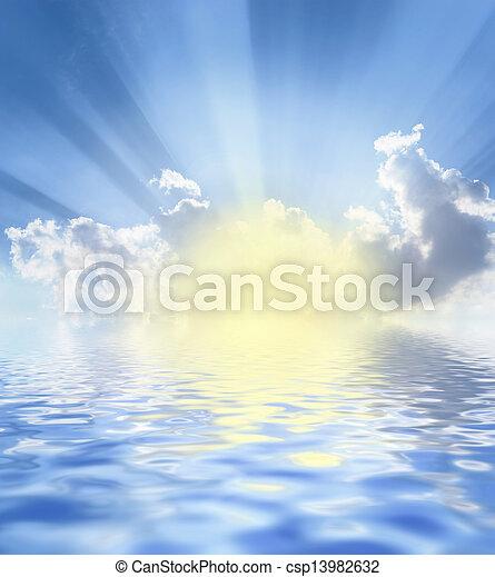 nuages - csp13982632