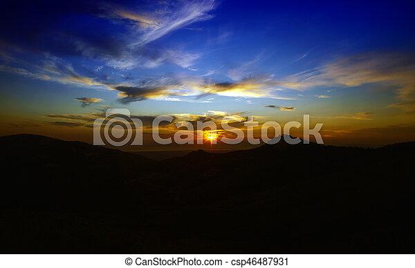 nuages - csp46487931