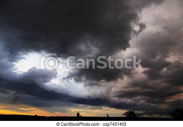 nuages - csp7431403