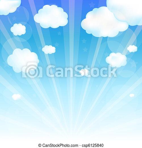 nube de cielo - csp6125840