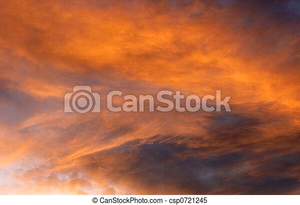 nubes, etéreo - csp0721245