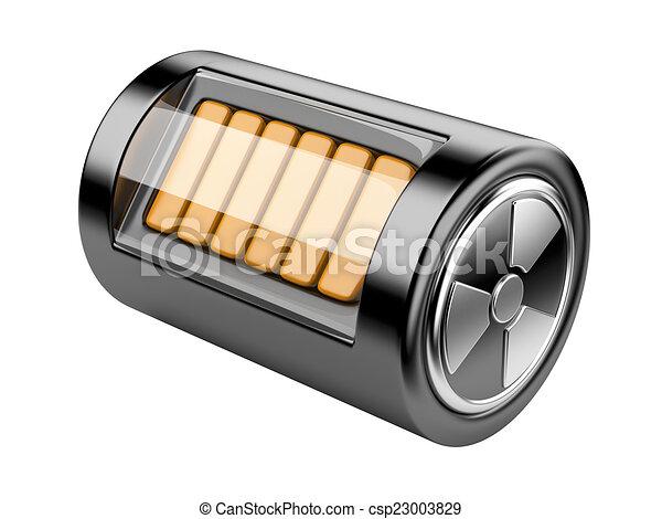 Nuclear energy battery - csp23003829