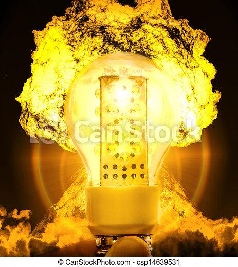 Nuclear energy - csp14639531