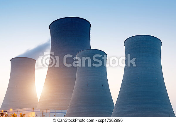 Nuclear energy - csp17382996