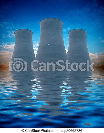 Nuclear energy - csp20662736