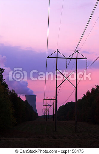 Nuclear Sunset - csp1158475