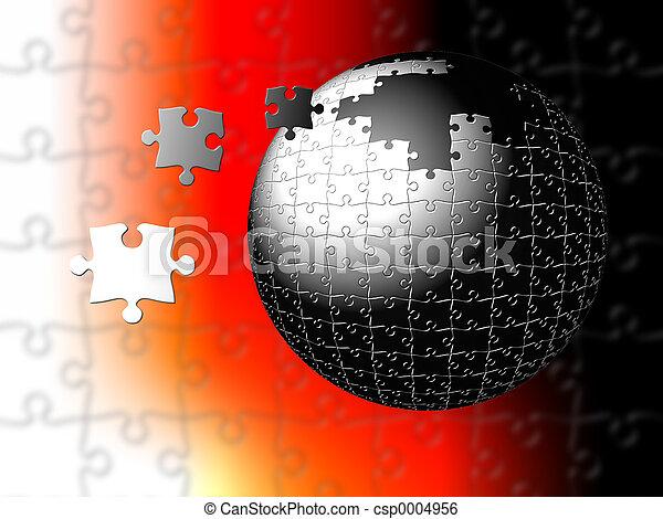 Nucleus Puzzle - csp0004956