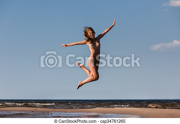 Are Nude girl jumping pic opinion