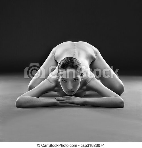Nude yoga photography think, that