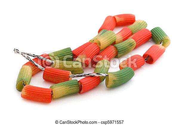 nudelgerichte, schließen, gefärbt, auf - csp5971557