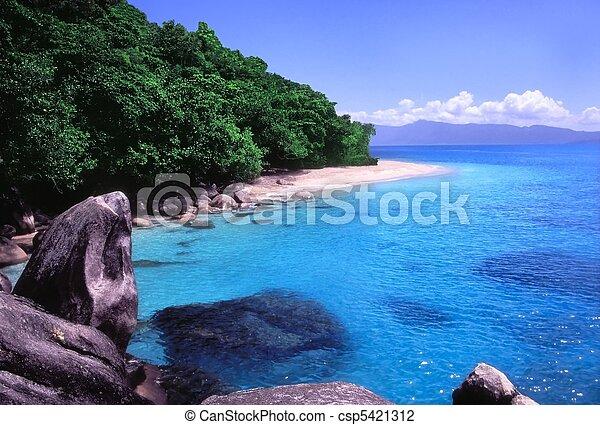 Nudey Beach - Queensland, Australia - csp5421312