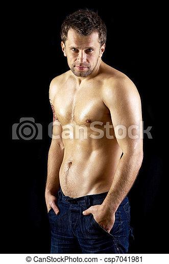 maschi modello nudi
