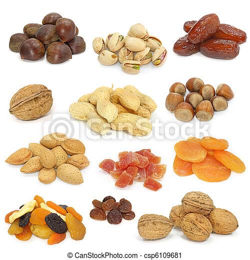 Nueces y frutas secas - csp6109681