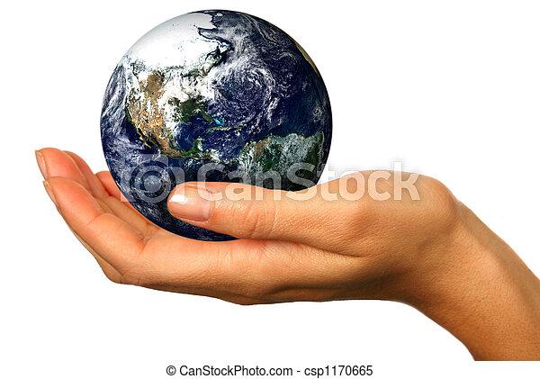 Nuestro futuro está en nuestras manos - csp1170665
