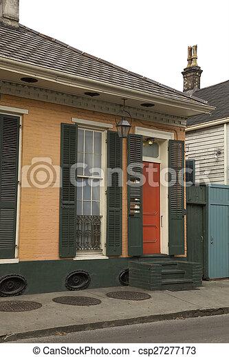 Nuevas orleanas, habitaciones francesas - csp27277173