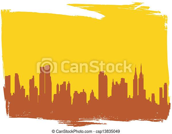 Nueva York - csp13835049