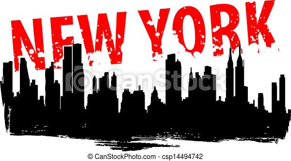 Nueva York - csp14494742