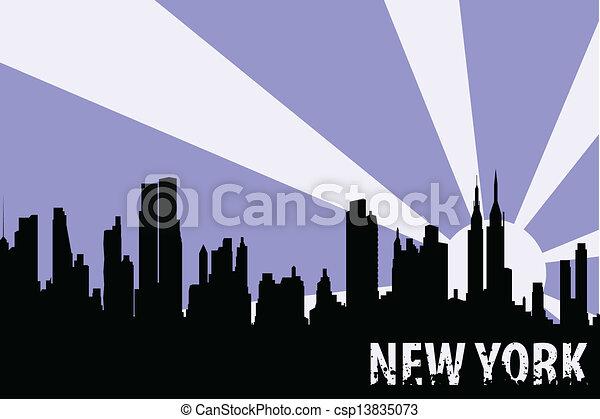 Nueva York - csp13835073