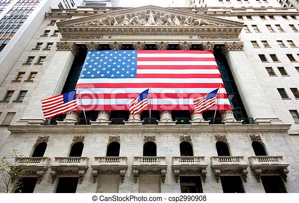 nuevo, acción, york, intercambio - csp2990908