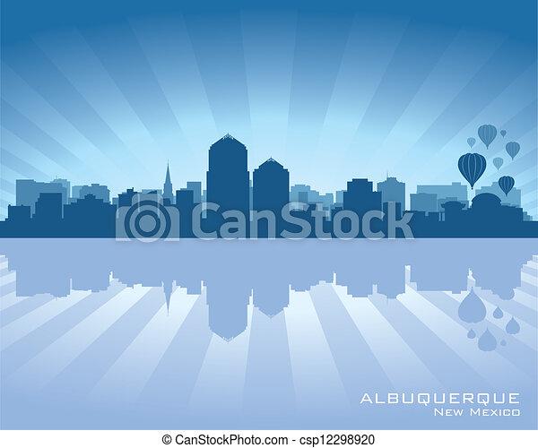 Albuquerque, nuevo horizonte de México - csp12298920