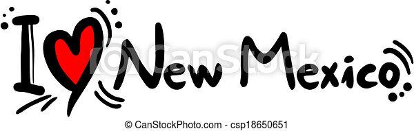 Amor de Nuevo México - csp18650651