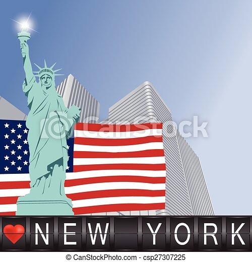 Me encanta Nueva York - csp27307225