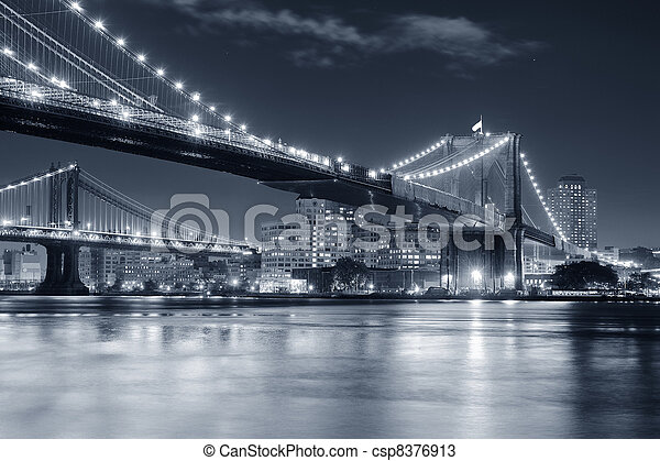 nuevo, ciudad, manhattan, york - csp8376913
