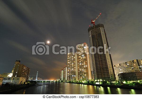 Nueva ciudad - csp10877383