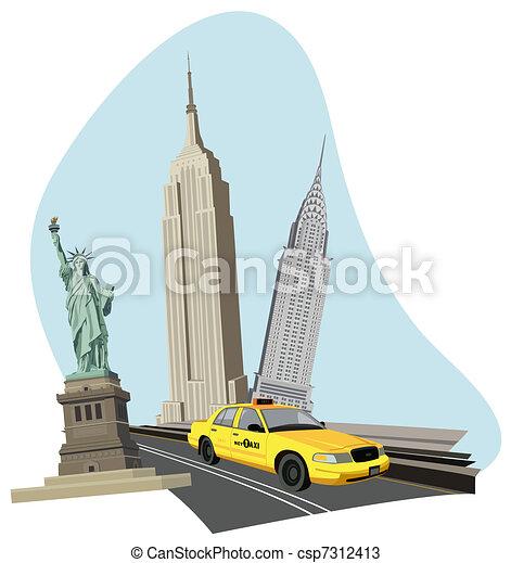 Nueva York - csp7312413